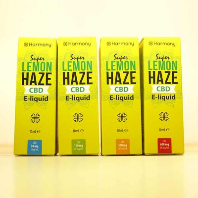 Super Lemon Haze CBD E Liquid Harmony - 30mg, 100mg, 300mg, 600mg CBD