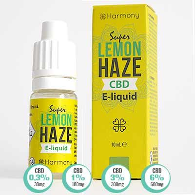 Super Lemon Haze CBD E Liquid Harmony
