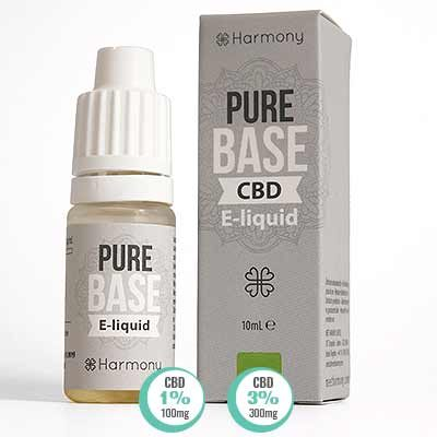 Pure Base CBD E Liquid Harmony