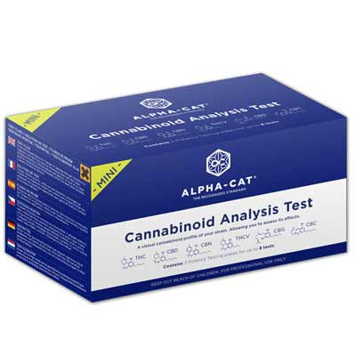Alpha-Cat Cannabinoid Mini-Test kit
