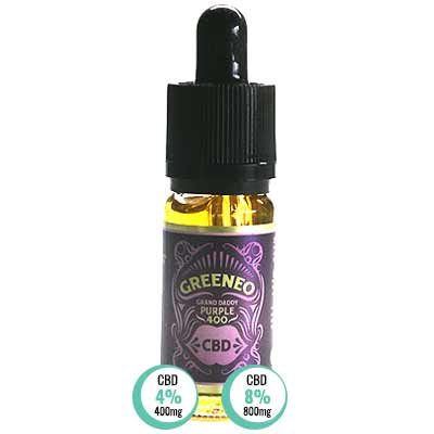 Grand Daddy Purple CBD E Liquid von Greeneo
