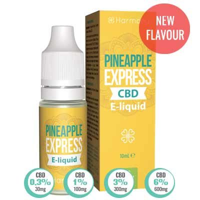 CBD Liquid Pineapple Express Harmony