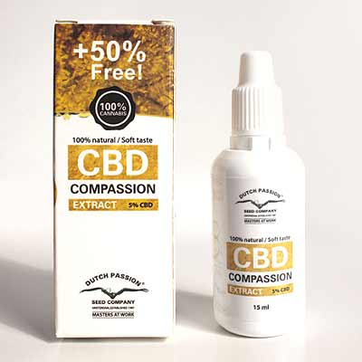 Dutch Passion CBD Öl 5% 15ml