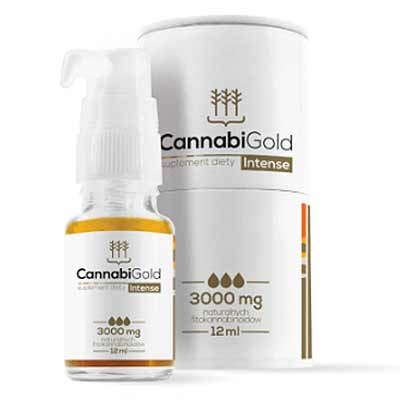 Cannabigold Intense 3000mg CBD